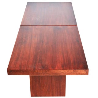 John Keal for Brown Saltman Walnut Extendable Coffee Table