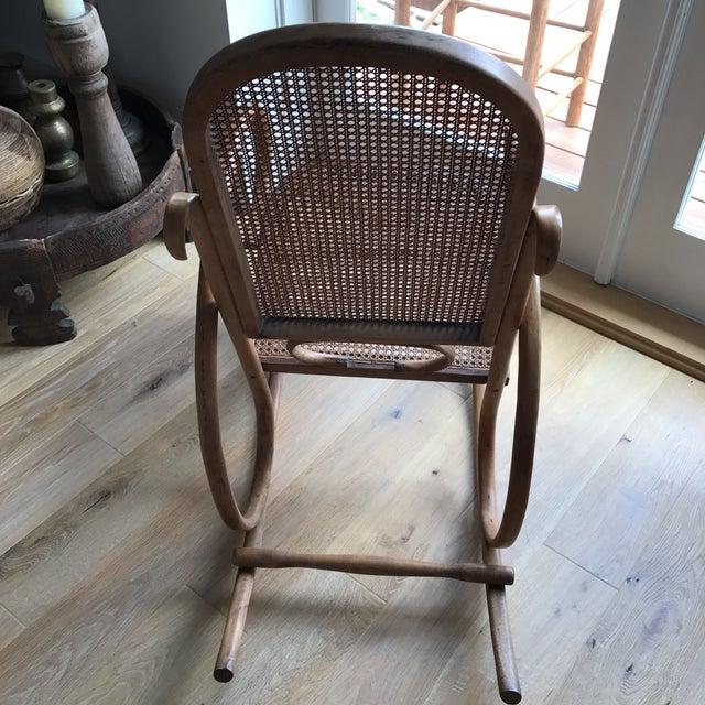 Spanish Bentwood Rocking Chair Rocker - Image 8 of 10
