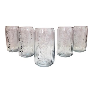 Coca-Cola Soda Can Glasses - Set of 5