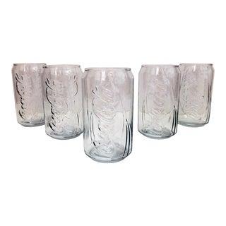 Coca-Cola Soda Can Glasses - Set of 5