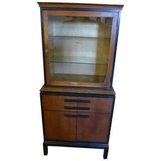 1940's Medical Cabinet Apothecary
