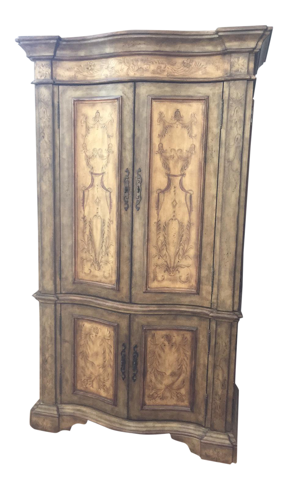 Hooker Furniture Hand Painted Armoire