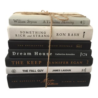 Black & White Hardbound Books - Set of 7