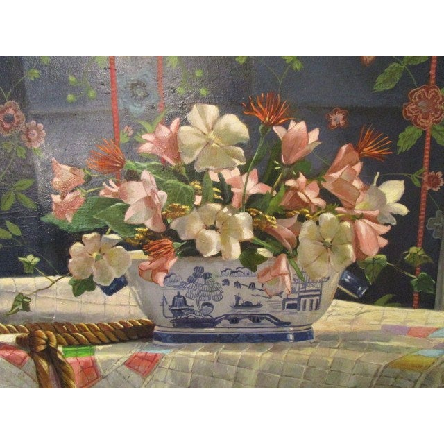 "Ardis Shanks ""Chinese Export"" Still Life Painting - Image 3 of 7"