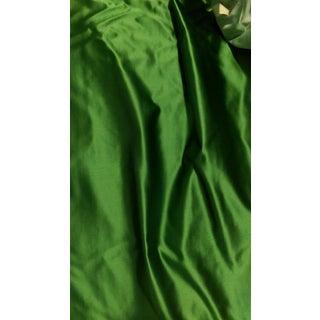 Kravet Cotton Silk Kelly Green Fabric