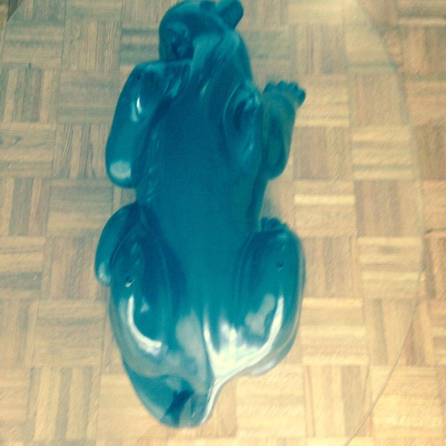 Image of Black Panther Coffee Table Circa 1970's