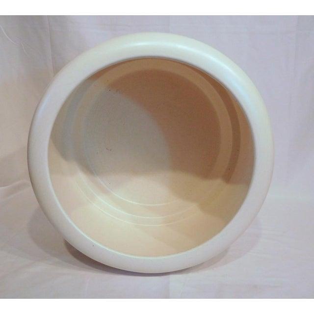 American California Pottery Modern Ceramic Planter - Image 8 of 10