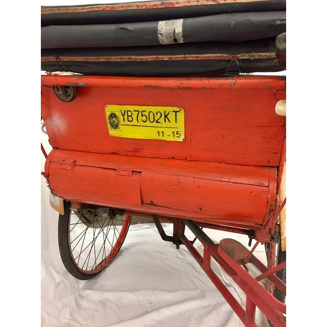 Vintage Indian Rickshaw Cart - Image 8 of 11