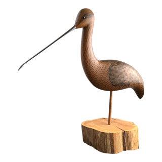 Mid-Century Americana Stilt Bird