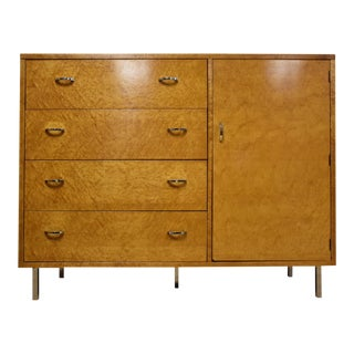 Lane Bird's Eye Maple Chifforobe Dresser