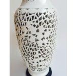 Image of Mid-Century Blanc De Chine Style Porcelain Lamp