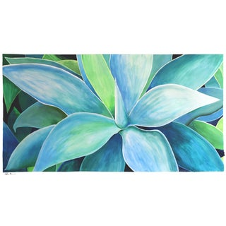 """Agave Number Five"" Acrylic Painting"