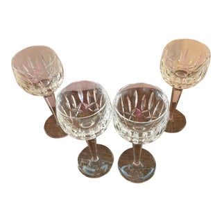 Waterford Wine Goblets - Set of 4