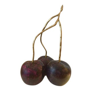 Italian Giant Cherries With Bronze Stem