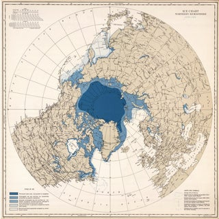 Ice Chart of the Northern Hemisphere - January
