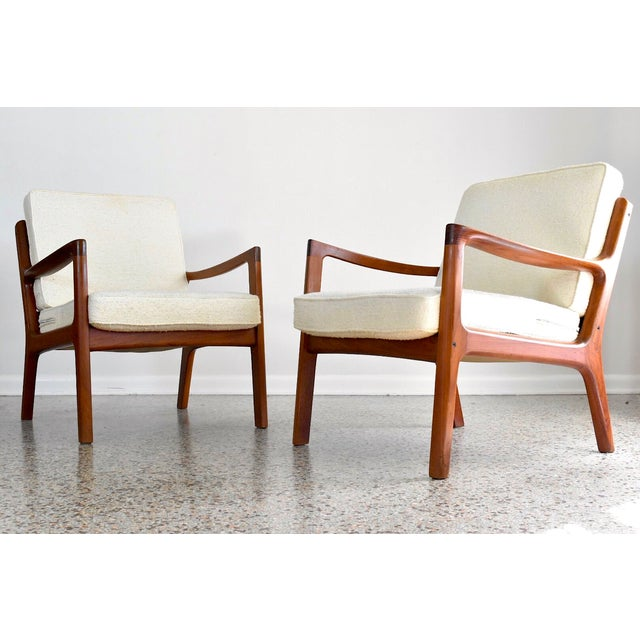 Image of Ole Wanscher France & Son Senator Chairs - Pair