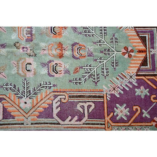 "Early-20th-C. Samarkand Rug - 8'9"" X 5' - Image 3 of 4"