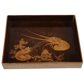 Late 19th Century Rectangular Japanese Lacquer Tray