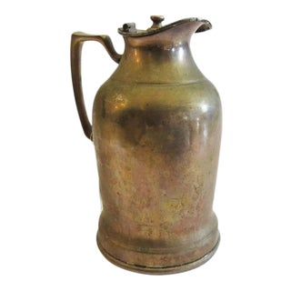 Vintage Silver Thermos Pitcher