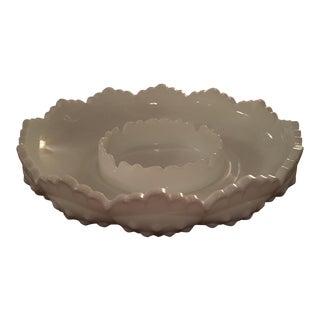 Fenton Hobnail Milk Glass Ash Tray