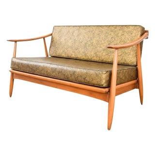 Mid-Century Modern Loveseat Sofa