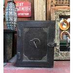 Image of Antique Iron Safe From India