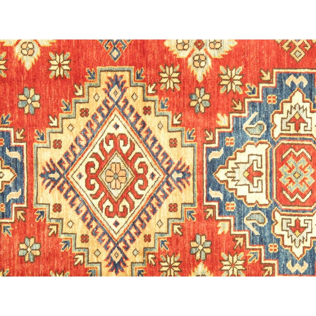 "Kazak Lamb's Wool Rug- 4'8"" X 6'5"" - Image 2 of 3"