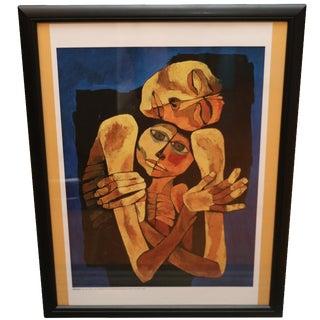 Madre y Niño by Oswaldo Guayasamin