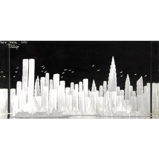 Lucite Manhattan Sculpture