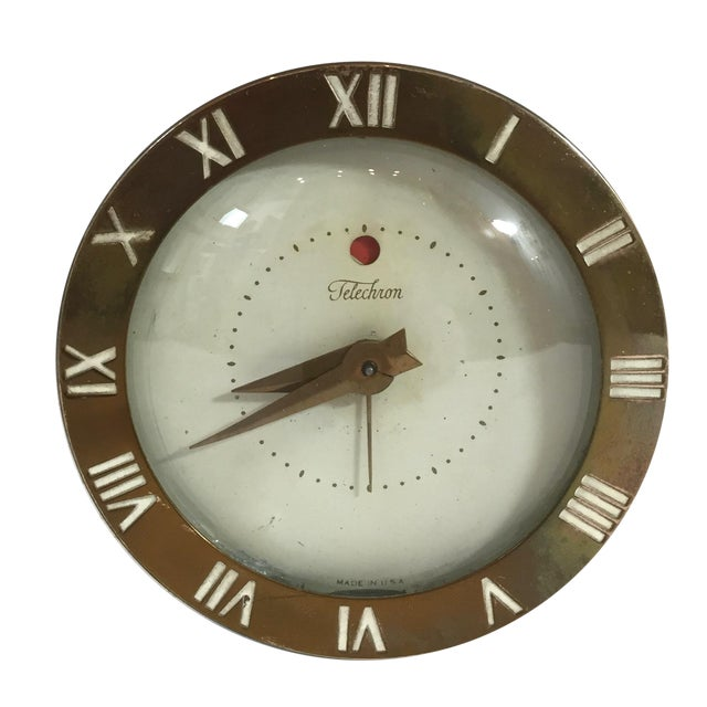 Mid-Century Telechron Lucite Clock - Image 1 of 6