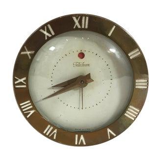 Mid-Century Telechron Lucite Clock