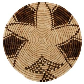 Vintage Coiled Star Basket