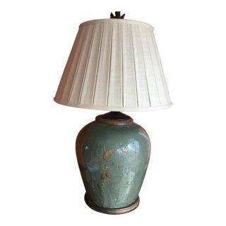 Vintage Ceramic Jar Lamp