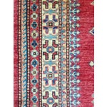 Image of Kazak/Caucasian Runner From Pakistan - 3' X 21'