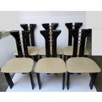 Image of Vintage Italian Dining Chairs - Set of 6