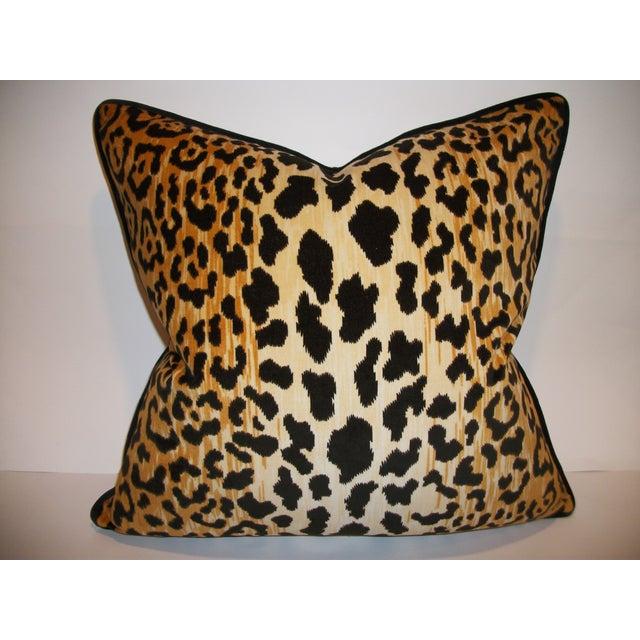 Leopardo Cotton Velvet Accent Pillows - A Pair - Image 2 of 6