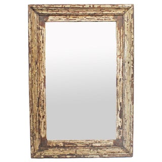 Antique Colonial Frame Mirror
