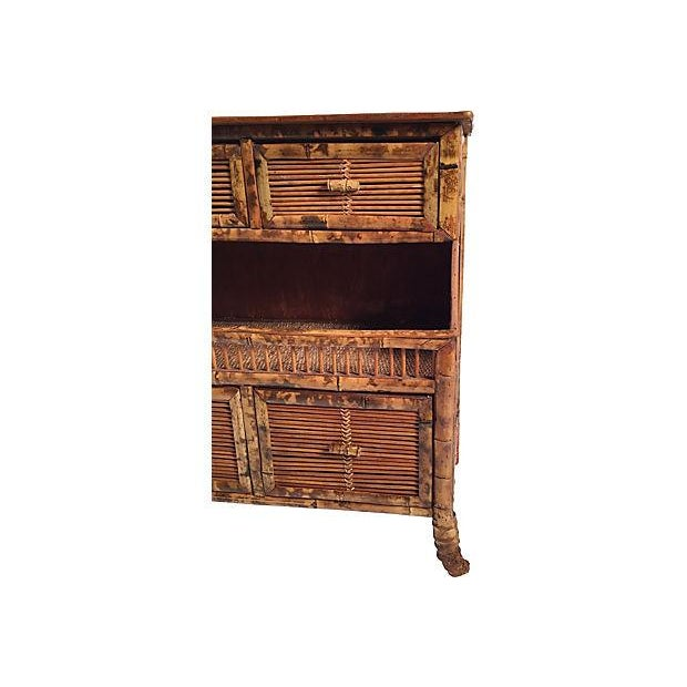 Rattan Storage Cabinet - Image 4 of 7