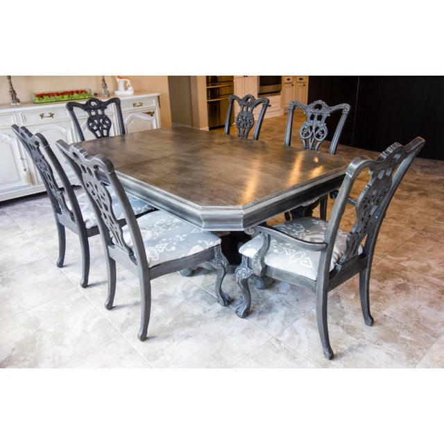Reproduction Chippendale Dining Set - Image 2 of 11