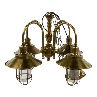 Watson Ceiling Lamp With Glass Bulb Protectors