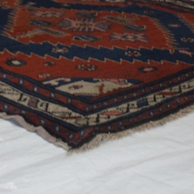 """Leon Banilivi Antique Kuba rug - 3'5"""" x 5'8"""" - Image 4 of 4"""
