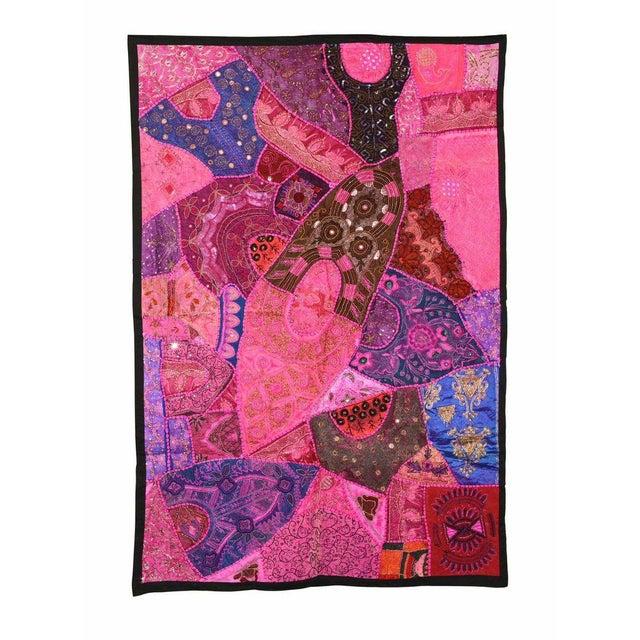 Bright Pink Multi-Purpose Vintage Panel - Image 1 of 2