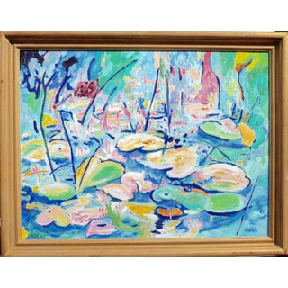 Lilies in the Pond by Martha Holden
