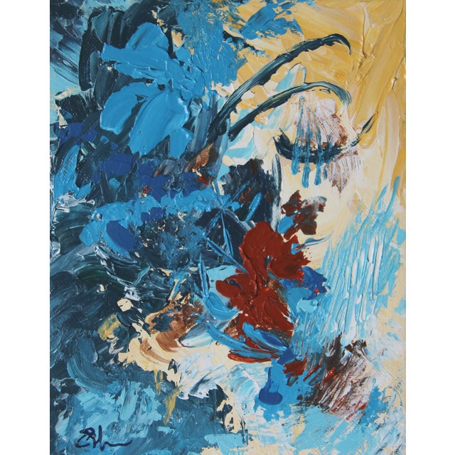 "Image of ""Tropical Flora"" Celeste Plowden Original Painting"