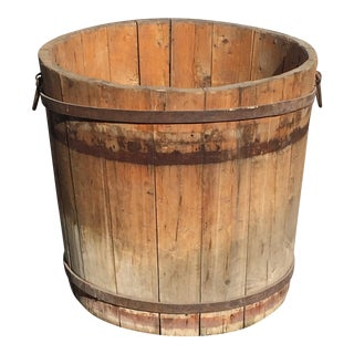 Antique 1890 French Barrel