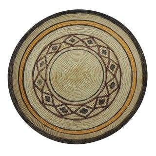 Vintage English Basket Weave Design Ceramic Bowl