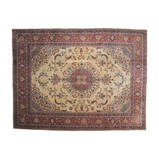 Antique Tabriz Rug - 9' X 12'