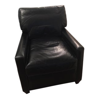 Custom Leather Contemporary Chair