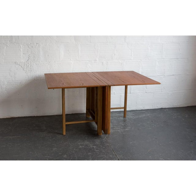 Bruno Mathsson Expandable Dining Table - Image 5 of 8