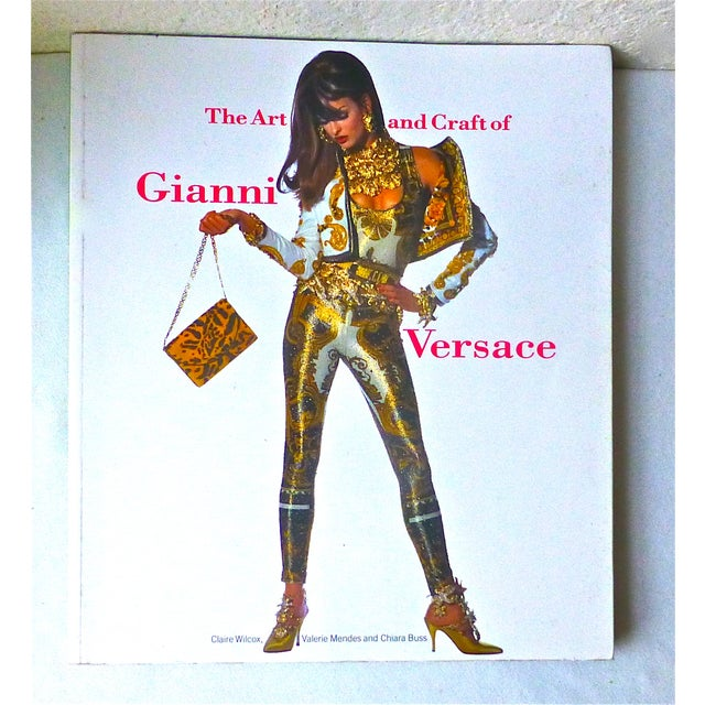 Image of 'The Art and Craft of Gianni Versace' Book